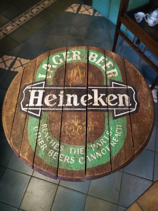 Bistro tafeltje Heineken - De StadsZolder - Winkel - Ontruimingen