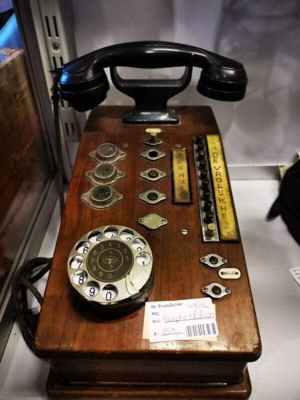Receptietelefoon - De StadsZolder - Winkel - Ontruimingen